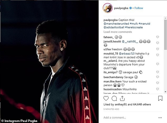 Manchester United to fine Paul Pogba for posting