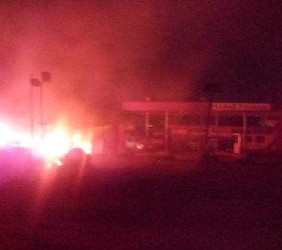 Pipeline explosion rocks?Abule Egba?in Lagos (Photos)