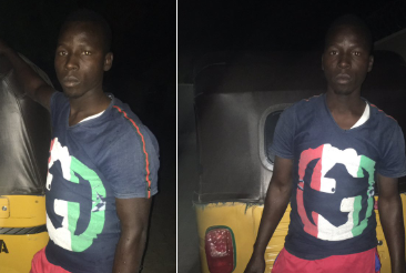 Photo: Keke Napep driver finds N1.1m in his car, returns it to the owner