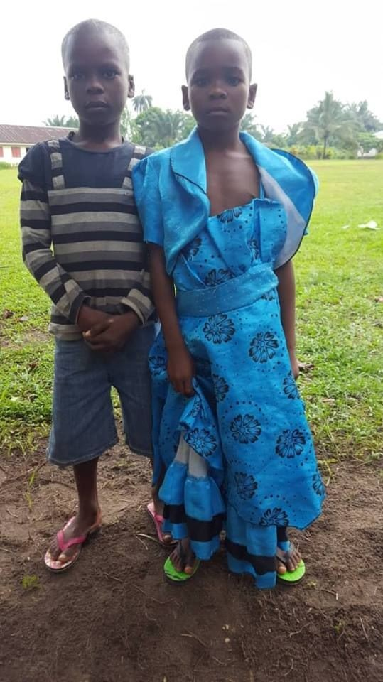 Sad! Photos of children rescued in Akwa Ibom after being branded witches and abandoned by their families