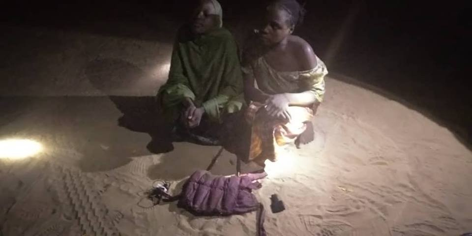 Photos: Female suicide bombers apprehended in Borno