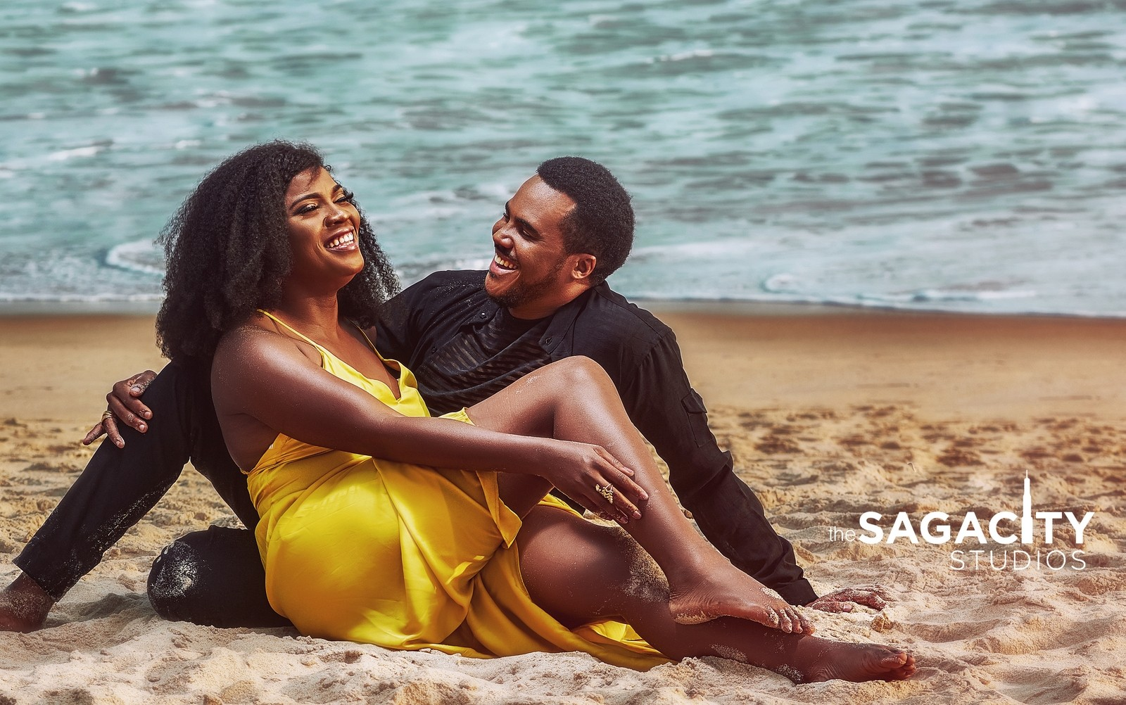 Nollywood Actor, Michael Okon and his wife to be, Kosi Obialor stun on cover of SuperBold Magazine