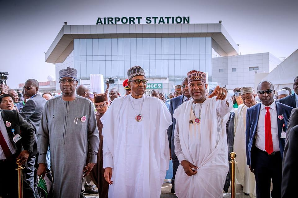 President Buhari commissions new multi-million dollar terminal at the Nnamdi Azikiwe International Airport, Abuja