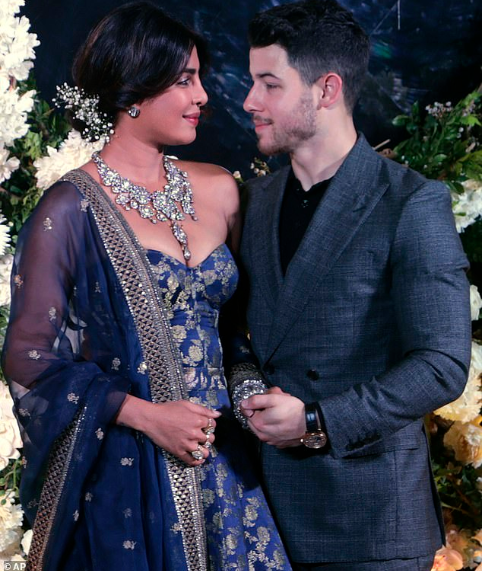 "Priyanka Chopra and Nick Jonas share photos from their second ""more personal"" wedding reception in Mumbai"