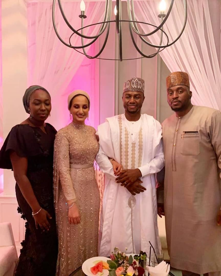 Photos from the wedding of Dangote