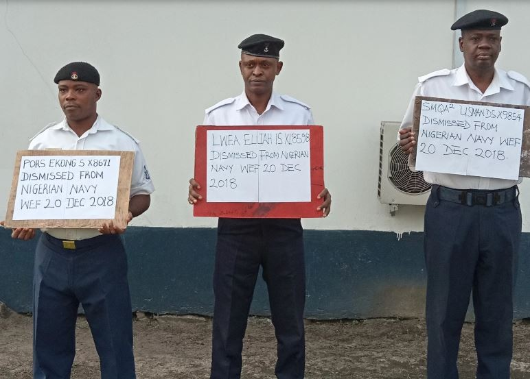 Nigerian Navy dismisses three personnel over theft on Tompolo?s property in Delta State