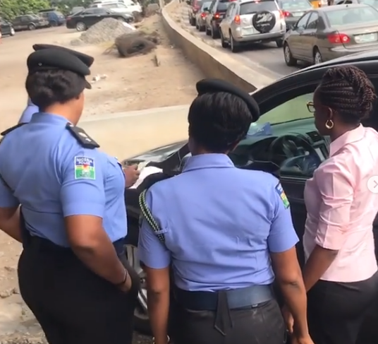 Photos: Zone 2 Police command gifts road users Christmas gifts in Lagos