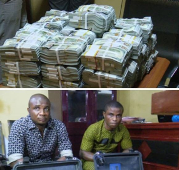 EFCC Intercepts $2.8 Million cash at the?Akanu Ibiam International Airport, Enugu (Photo)