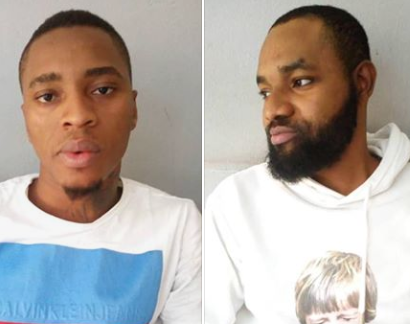 Photos: Two Yahoo Yahoo boys bag one year imprisonment
