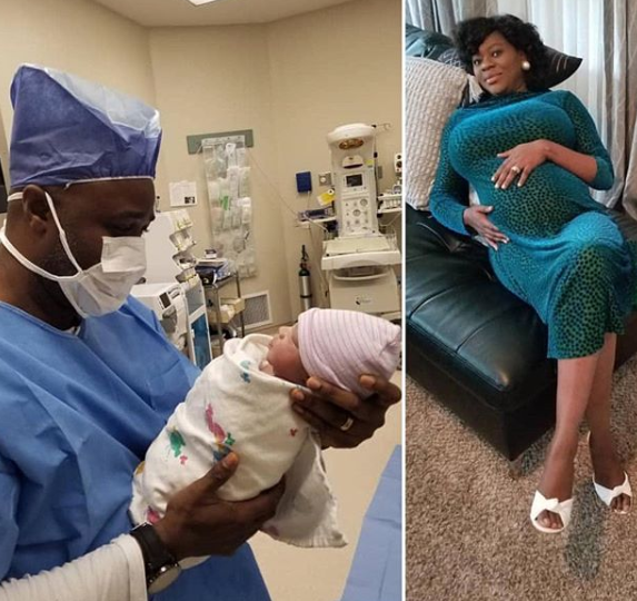 Actor Femi Adebayo and his wife welcome a son!