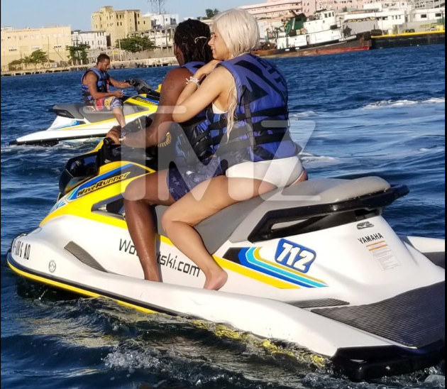 Cardi B and Offset are back together as they are spotted jet skiing in Puerto Rico (Photos)