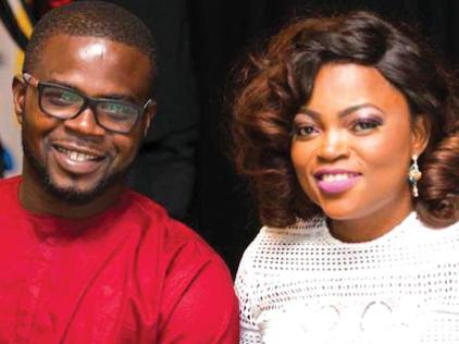 Actress Funke Akindele Bello and hubby welcome twin boys