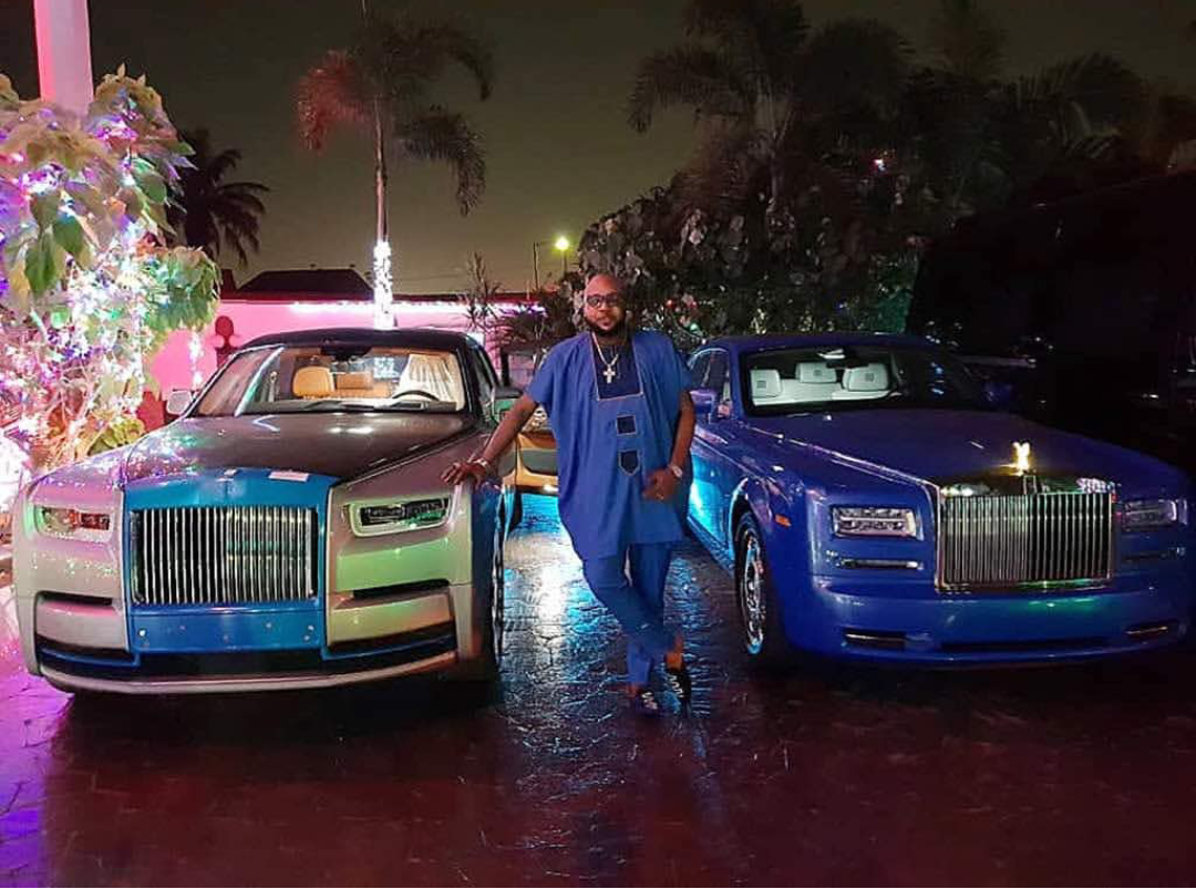 Days after buying his wife a Rolls Royce, billionaire businessman E-Money also acquires his own Rolls Royce