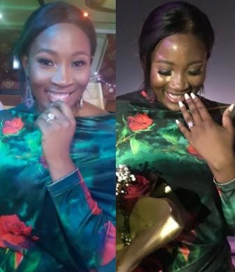 Photos: LITV presenter, Tope Olowoniyan, gets engaged