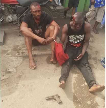 We needed the money to celebrate Christmas - Lagos bank robbery suspects tell Police