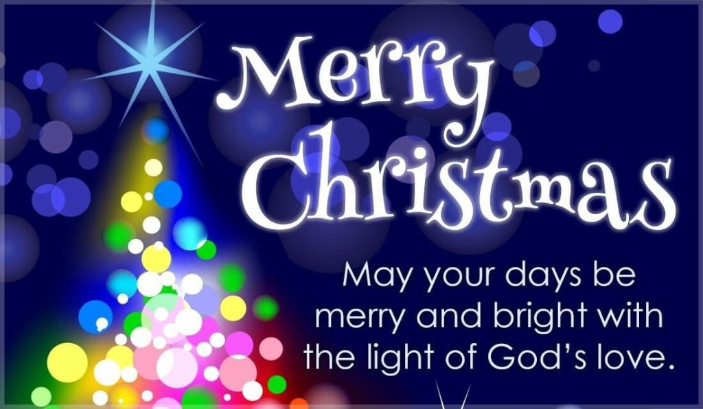 Merry Christmas To You.Merry Christmas To All