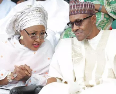 President Buhari challenges his wife, Aisha, to name the cabals in his government