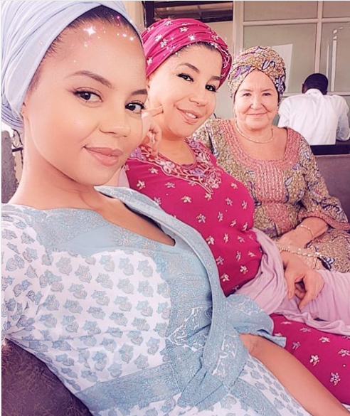 Check out beautiful 3-generation photos of Adama Indimi, her mum, and grandmother