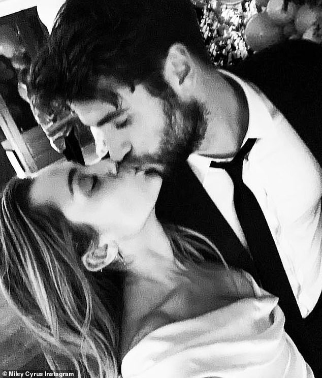 Miley Cyrus confirms marriage to Liam Hemsworth as she shares loved-up photos from their lowkey wedding in Tennessee