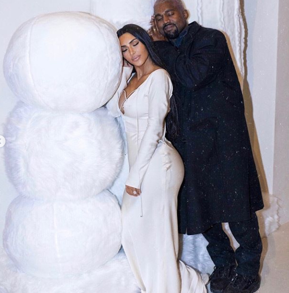 Kim Kardashian shares photos of her family at Christmas but fans are more concerned about North