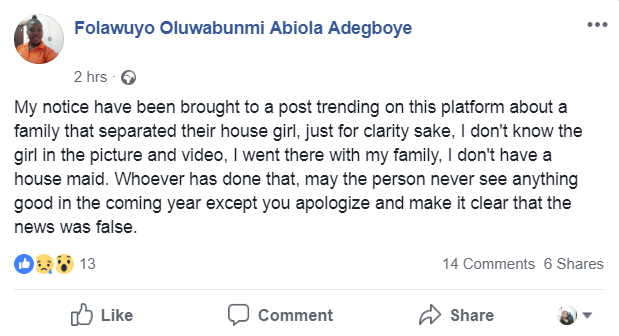 Woman replies after video purportedly showing her sidelining her