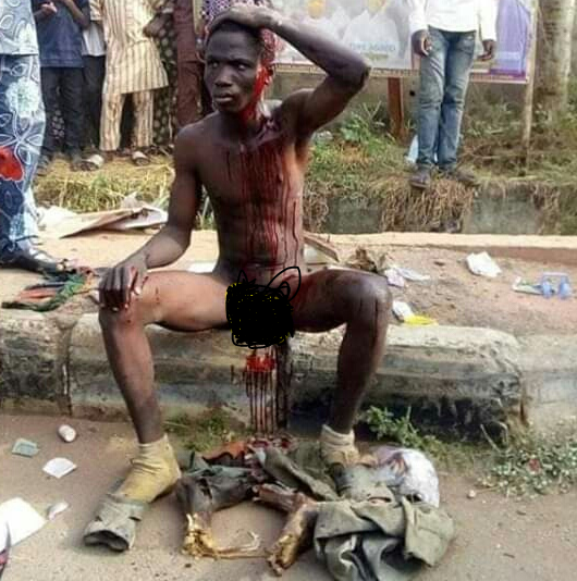 Suspected ritualist nabbed with human parts in Oyo (photo)