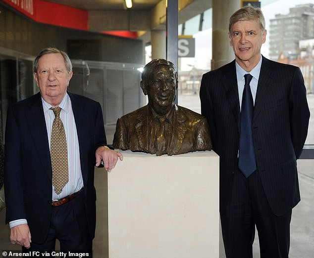 Former Arsenal chairman, Peter Hill-Wood dies at 82