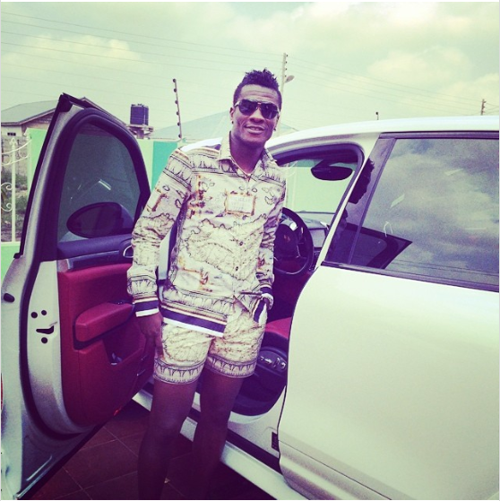 Ghanaian footballer Asamoah Gyan is reportedly broke, he has just