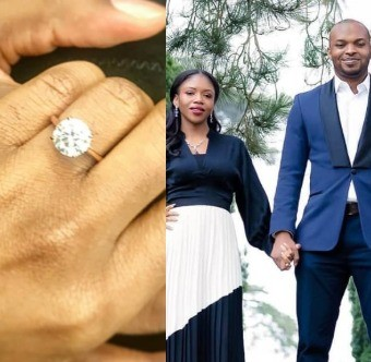 Late Pastor Bimbo Odukoya;s second daughter, Deborah,  gets engaged (photos)