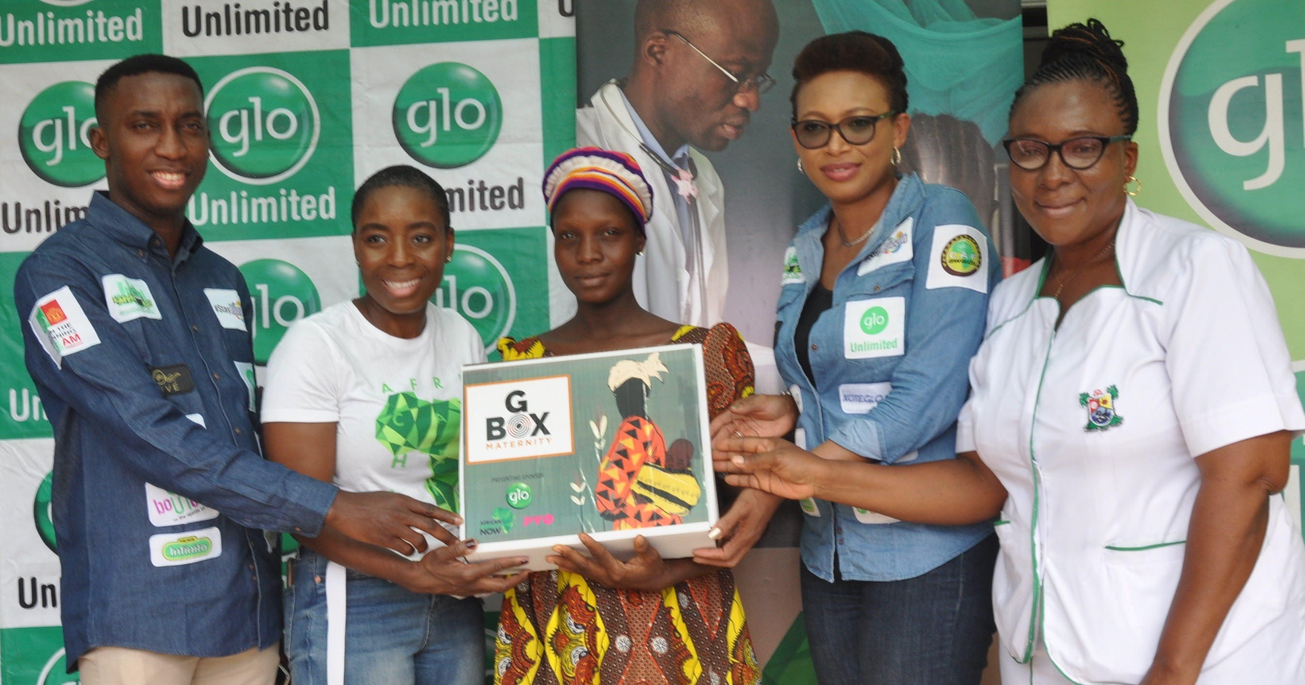 Glo, African Health now distribute maternity kits to expectant mother in Lagos