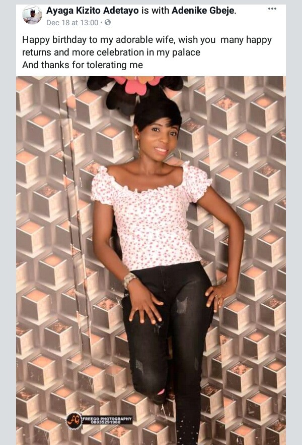 """Now I realize this world is full of wicked people""- nYoung wife of man shot dead by gunmen in Ekiti, mourns"