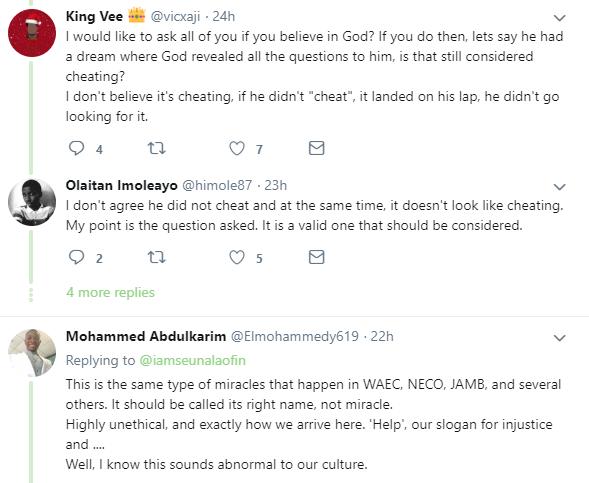 Twitter user shares testimony of how