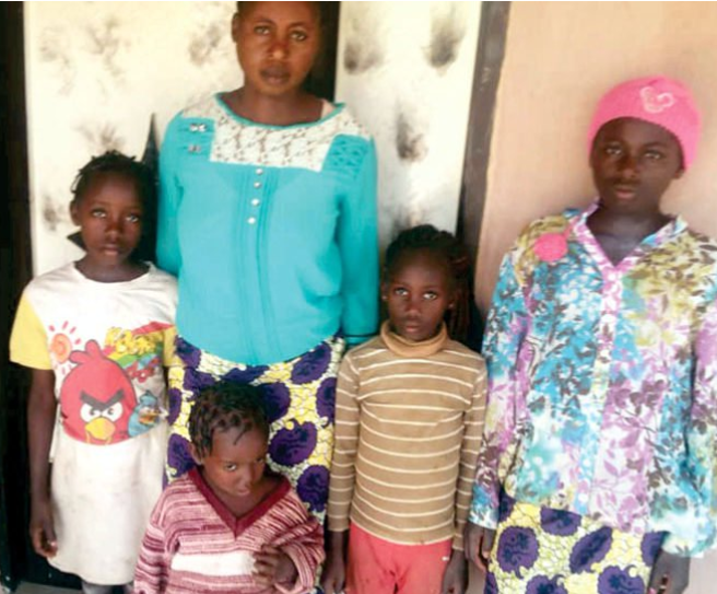 Photo: Mother of six recounts how suspected herdsmen killed her hubby on Christmas eve in Benue