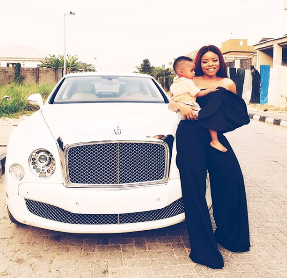 The Bentley Mulsanne I bought for my son has finally landed in Lagos. Yay! (Photos)