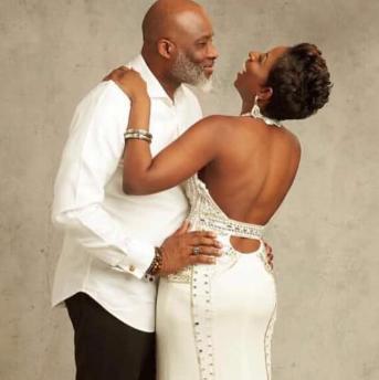 Lanre Olusola and wife celebrate 19th wedding anniversary