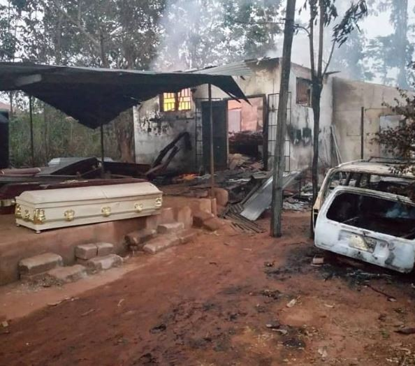 Police launch investigation into fire outbreak that left over 50 bodies burnt beyond recognition?in a morgue in Anambra State