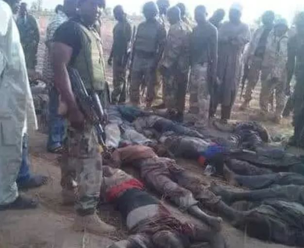 Graphic Photos:?Nigerian troops kill several Boko Haram terrorists in Yobe State