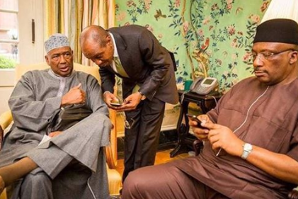 FFK shares photo of two men he alleges are members of the cabal in the Buhari-led government