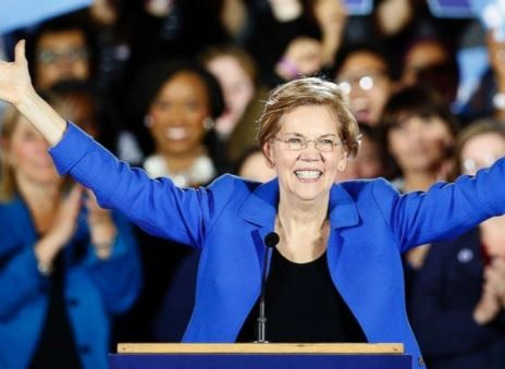 Senator Elizabeth Warren declares to run for presidency in 2020 against Donald Trump
