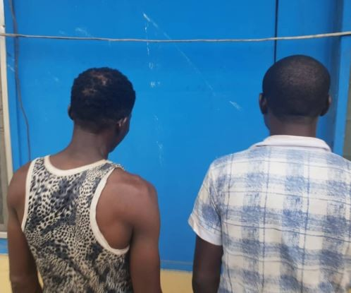 Zone Two Police command arrests�two robbery suspects, recover gun with three live cartridges (Photo)