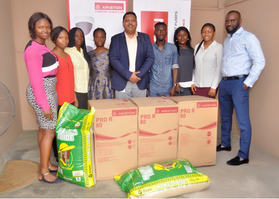 A special visit by Ariston Thermo to Love Home Orphanage