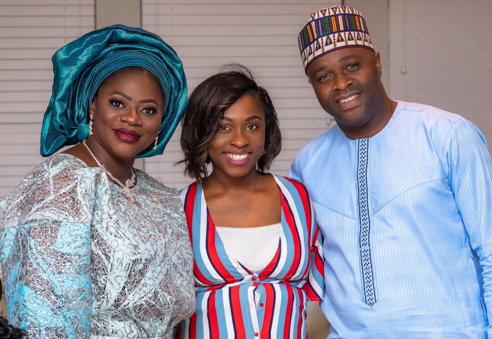Exclusive photos?from Femi Adebayo?s naming ceremony in Houston Texas, USA