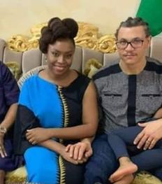 New photos of Chimamanda Ngozi Adichie and her hubby, Ivara Esege