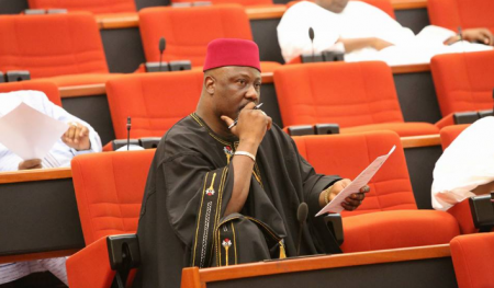 Court rejects Dino Melaye?s application to remove police from his house