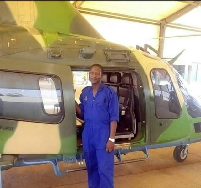 Photos: NAF Helicopter crash: Flight Technician, Sergeant Auwal Ibrahim left behind two young children