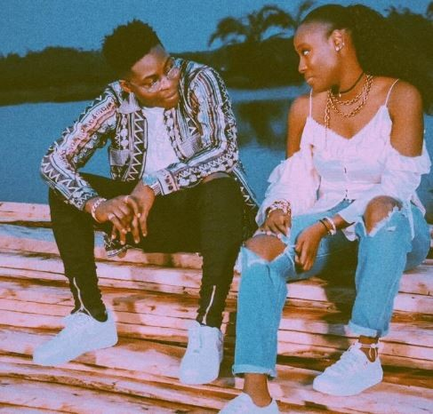 New photos spark dating rumours between Reekado Banks and Femi Otedola