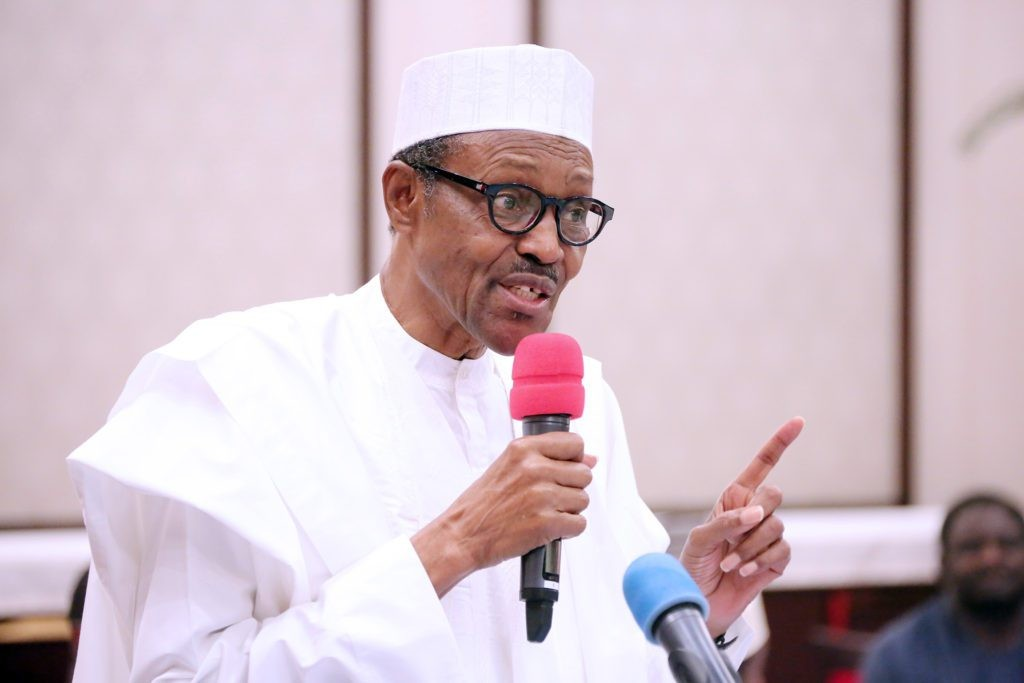 ''Groom yourselves for leadership'' President Buhari tells Nigerian youths