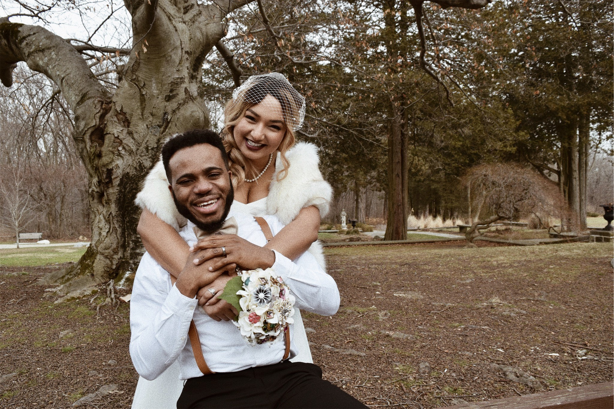 Photos Nigerian singer, Lamboginny and his woman Taccara Rae tie the knot in vintage fashion