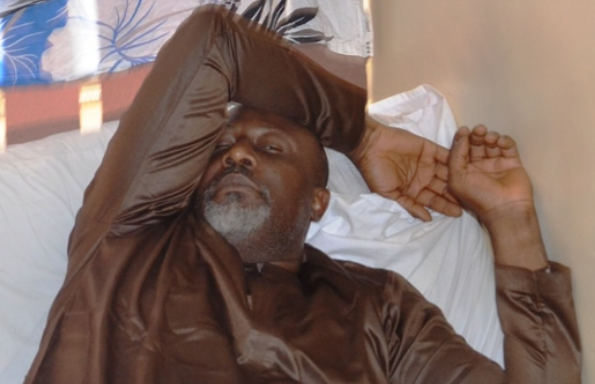 New photos of Dino Melaye in police hospital