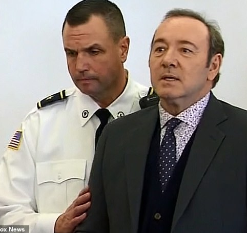 Kevin Spacey appears in court to face sexual assault charges and he